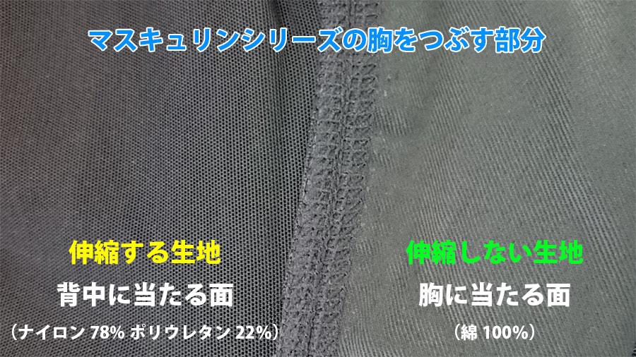 ナベシャツ【マスキュリンシリーズ】の内部