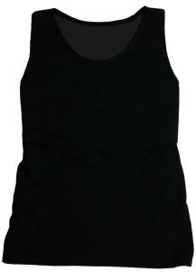 ナベシャツ【マスキュリンVer.2】ブラック(前)